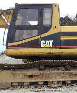 caterpillar-320B-alternator